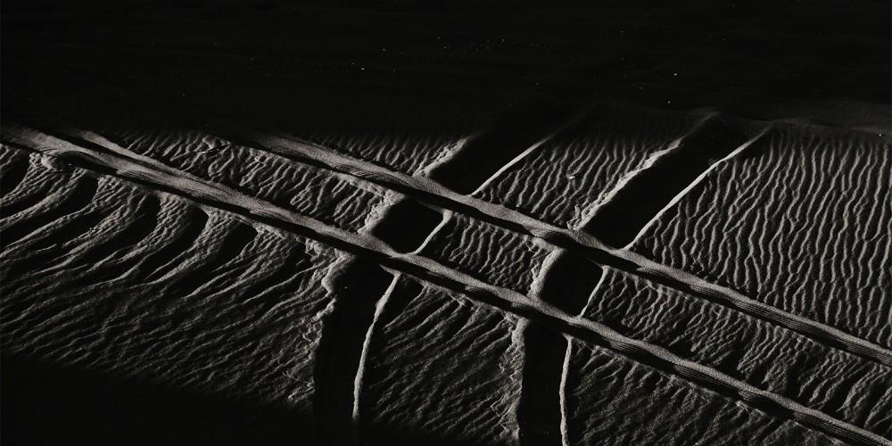 Egypte Desert Blanc lignes abstraites Jean-Marie Viaud Photographe